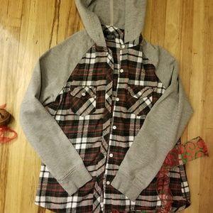 Empire Womans Flannel Size L